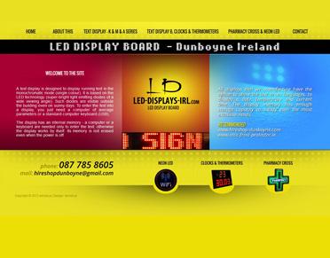 Led Display Board - Dunboyne Ireland